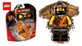 LEGO Ninjago Cole Spinjitzu Master 70637 Review and Unboxing