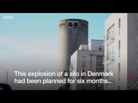 Danish Silo Demolition Goes Wrong