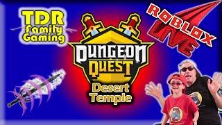 Roblox Dungeon Quest: Desert Temple to Winter Outpost - transmisión en vivo