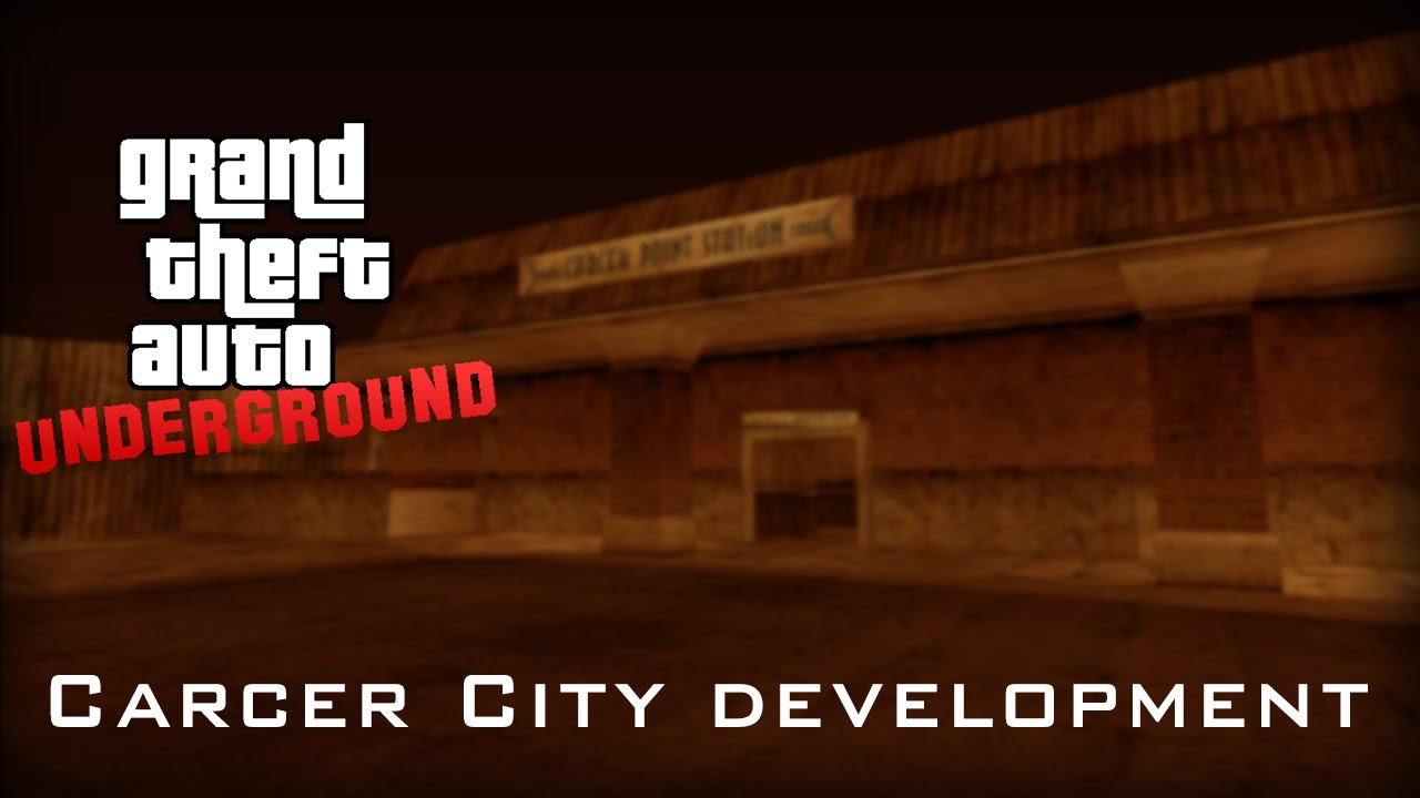 GTA SOL: Underground | Carcer City development part 1
