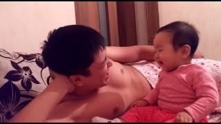Папа с дочкой =:)