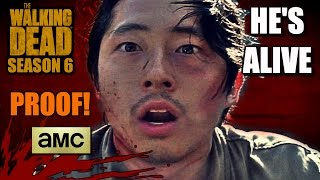 The Walking Dead: Season 6 - GLENN IS ALIVE!!! (Theories, PROOF, & Speculation)