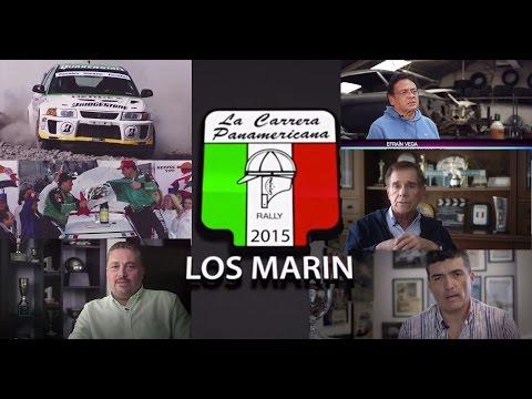 Los Marín en La Carrera Panamericana 2015