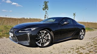 Lexus LC 500 V8 / Ford Mustang GT Premium? TEST PL