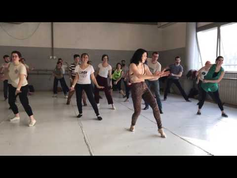 Tightrope Janelle Monae  Jazz Routine  Sharon Davis  Swing Train 2017