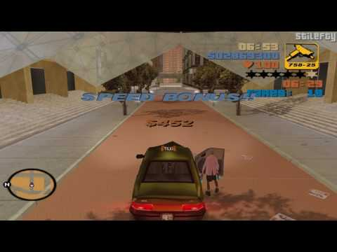 GTA 3 - Taxi Driver (1080p) [100 Fares]