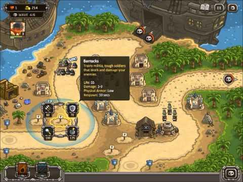 Kingdom Rush Frontiers (PC) - BUCCANEER'S DEN [veteran] [heroic] |