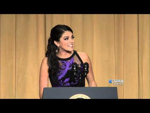 Cecily Strong complete remarks at 2015 White House Correspondents' Dinner (C-SPAN)