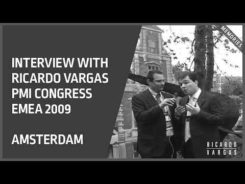 Ricardo Vargas Interview at PMI Global Congress 2009 EMEA in Amsterdam