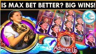 WINNING! I AM THE WIZARD OF OZ!! Not In Kansas Anymore Slot Machine - EVERY BONUS!