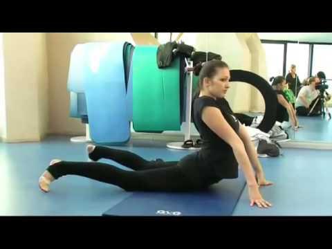 видео тренировка гимнасток в онлайн