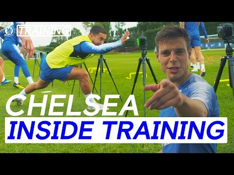 How To Get Fast Like Hazard, Pedro & Willian | Chelsea Inside Training