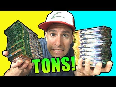 SO MANY POKEMON CARDS TO OPEN!
