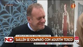 Mauricio Saillen sigue detenido y se comparó con Agustin Tosco
