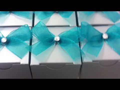 2 ideas f ciles para recuerdos de xv a os o bodas wedding for Ornamentacion de 15 anos