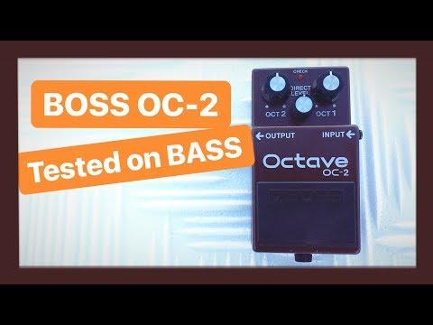 BOSS OC-2 Tested on bass