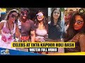 Bollywood Celebs At Ekta Kapoor's Holi Celebration 2019