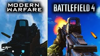 Modern Warfare(2019) vs Battlefield 4(2013)