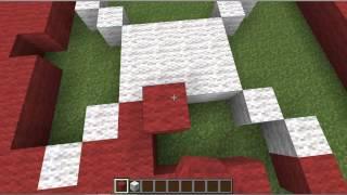 Türk Bayrağı Nasıl Yapılır-Minecraft