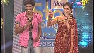 idea star singer sreenath performance