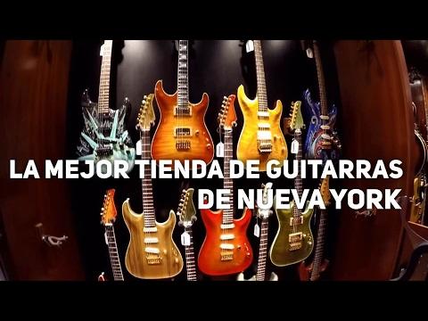 La mejor tienda de guitarras de Manhattan | Nueva York