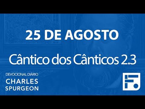 25 de agosto – Devocional Diário CHARLES SPURGEON #238
