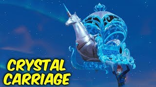 fortnite new glider gameplay crystal carriage unicorn glider - fortnite penguin glider