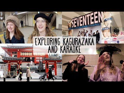 Exploring Kagurazaka, Seventeen lottery & Karaoke ✨ Tokyo vlog