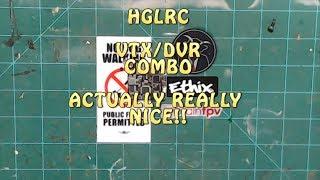 HGLRC VTX/DVR COMBO //  ITS REALLY GOOD!!
