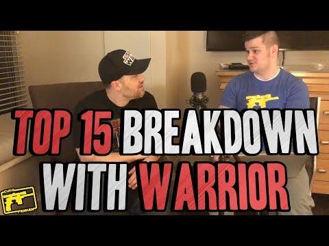 SWGOH : Top 15 Heroes February Breakdown with Warrior!