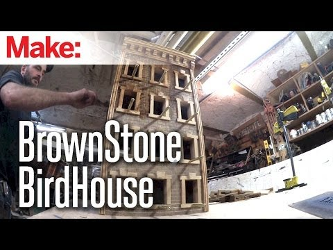 DiResta: BrownStone BirdHouse