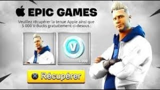 [OFFICIAL] VOICI THE SKIN APPLE ON FORTNITE!!