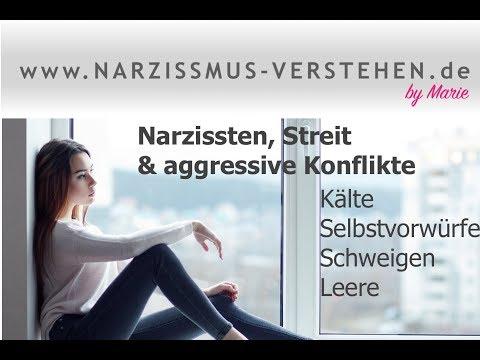 Narzissten, Streit & aggressive Konflikte...Kälte, Selbstzweifel, Leere & Schweigen