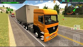 Heavy Truck Simulator - #11 New Paint Unlocked | Trailer Truck Games - Android iOS GamePlay FHD