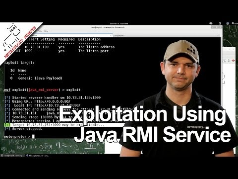 Exploitation Using Java RMI Service - Metasploit Minute