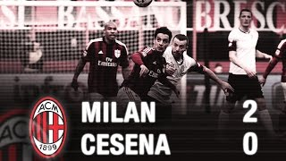 Video Gol Pertandingan AC Milan vs Cesena