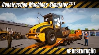Conhecendo o Game - Construction Machines Simulator 2016 PT-BR