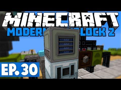Minecraft Modern Skyblock 2 - Stardust & Star Metal Ore! #30 [1.12.2 Modded Skyblock]