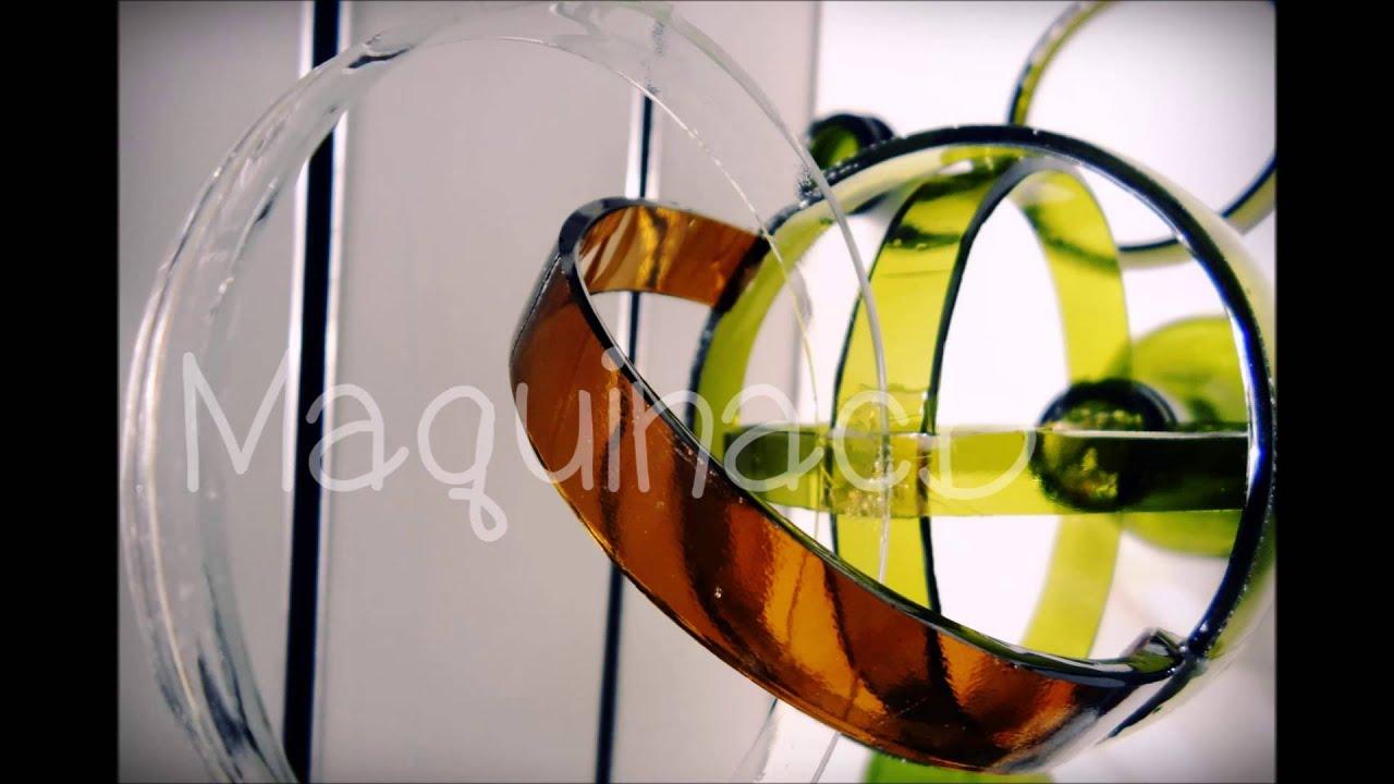 Maquina corta botellas maquinacb como cortar botellas de - Como cortar botellas de vidrio ...