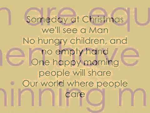 Someday At Christmas Lyrics.Justin Bieber Someday At Christmas Lyrics