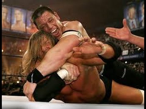 Triple H vs John Cena Wrestlemania 22 Full Match
