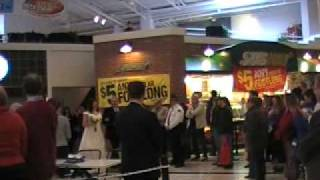 Married at The Mall-Here comes the Bride