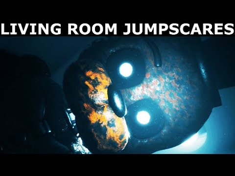 The Joy Of Creation: Story Mode - Living Room Jumpscares (FNAF ...