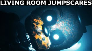 The Joy Of Creation: Story Mode - Living Room Jumpscares (FNAF Horror Game 2017) (No Commentary)