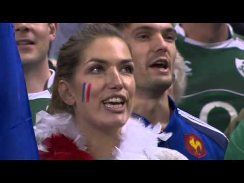 La Marseillaise BELTED out by the French at Wales match