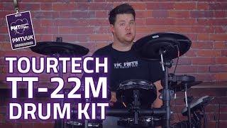 TOURTECH TT-22M Electronic Drum Kit -  Under £400 + Mesh Heads!