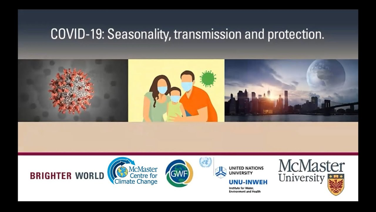 Image for COVID-19: Seasonality, transmission, and protection webinar