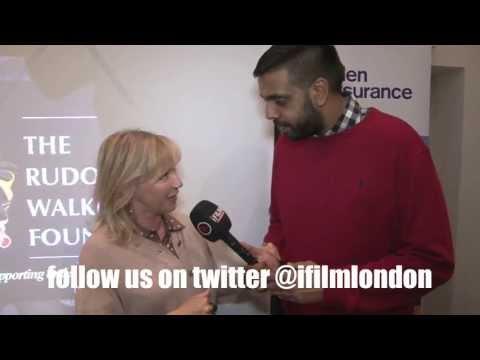 LINDSEY COULSON (EASTENDERS' CAROL JACKSON) TALKS TO iFILM LONDON @ RUDOLPH WALKER DINNER 2013