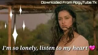 I'm So Lonely , Broken Angel - Alone Sad Status Video Download