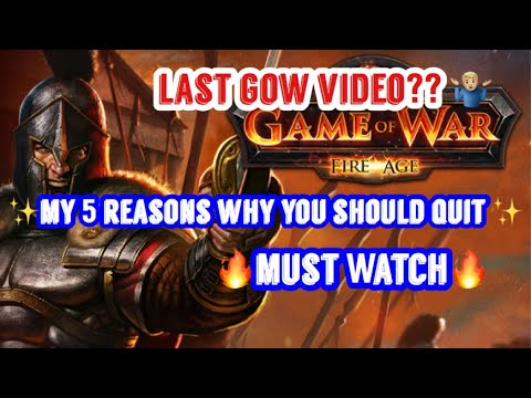 Game of War: Why you should QUIT. 🔥MUST WATCH🔥
